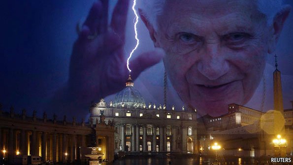 see you later pope benedict s resignation