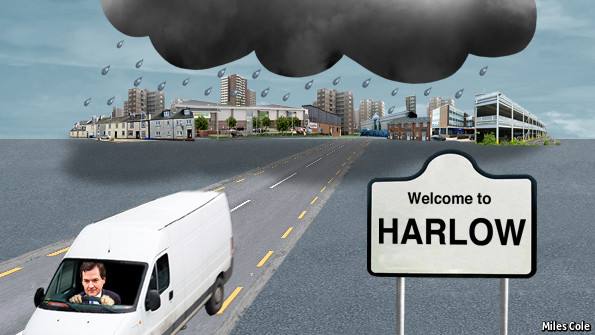Harlow Exchange Main Car Park
