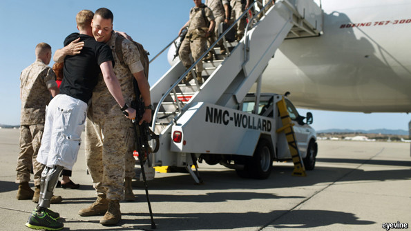The waiting wounded - America's combat veterans