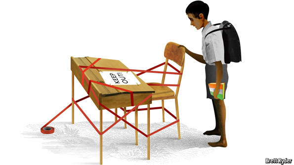 Schumpeter New Rules For Schools The Economist
