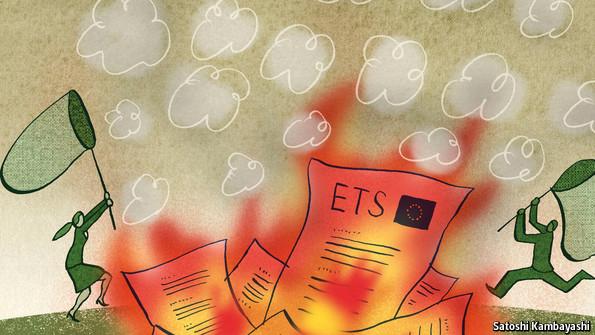 European emissions trading system ets