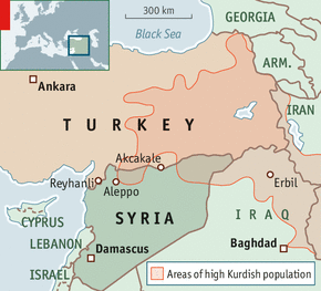 An Explosive Border Turkey And Syria - Where is syria and turkey