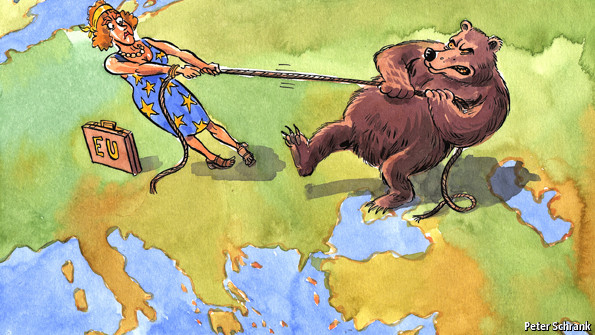 The Eurasian tug-of-war