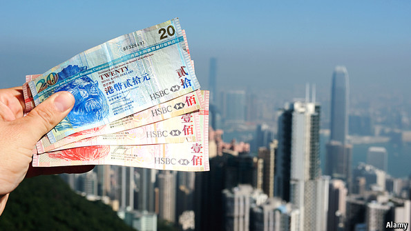 hong kongs currency board system Hong kong's peg—its dollar's steadfast link to the american dollar at a rate of 78 to one—is 19 years old this autumn it has survived political crises and a number of booms and busts.