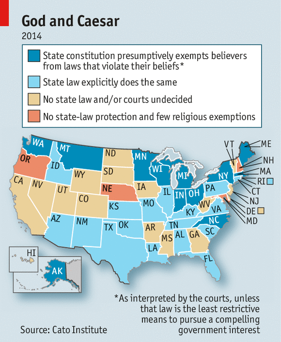 The Hobby Lobby Hubbub Obamacare And Religious Freedom - Hobby lobby us map