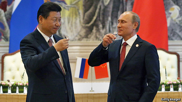 china and america relationship with russia