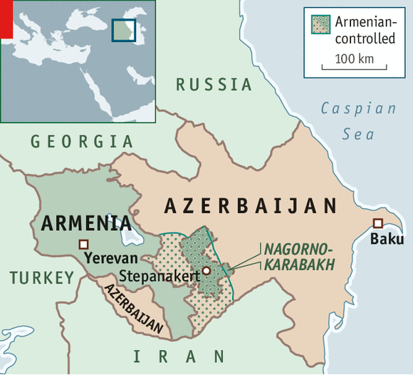 A mountainous conflict NagornoKarabakh