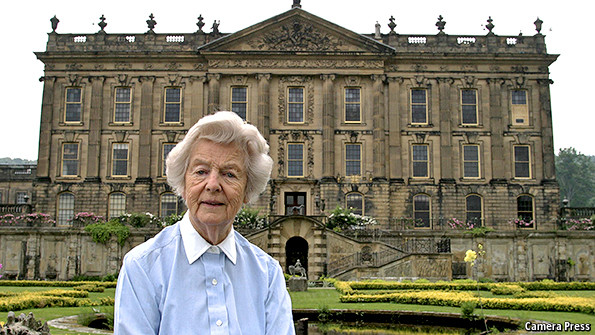 Lady of the house obituary deborah devonshire for The devonshire house