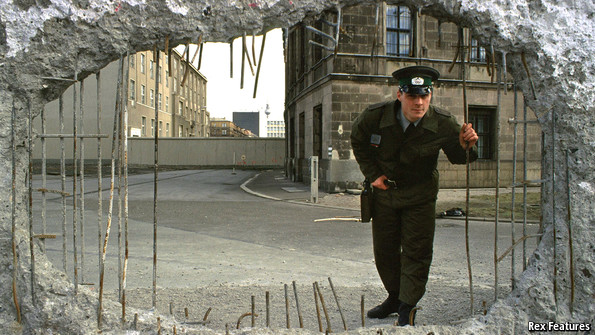 The German Open The Fall Of The Berlin Wall