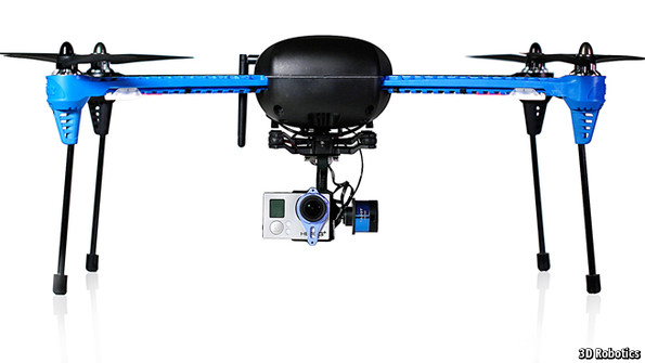 The Robot Overhead Unmanned Aircraft