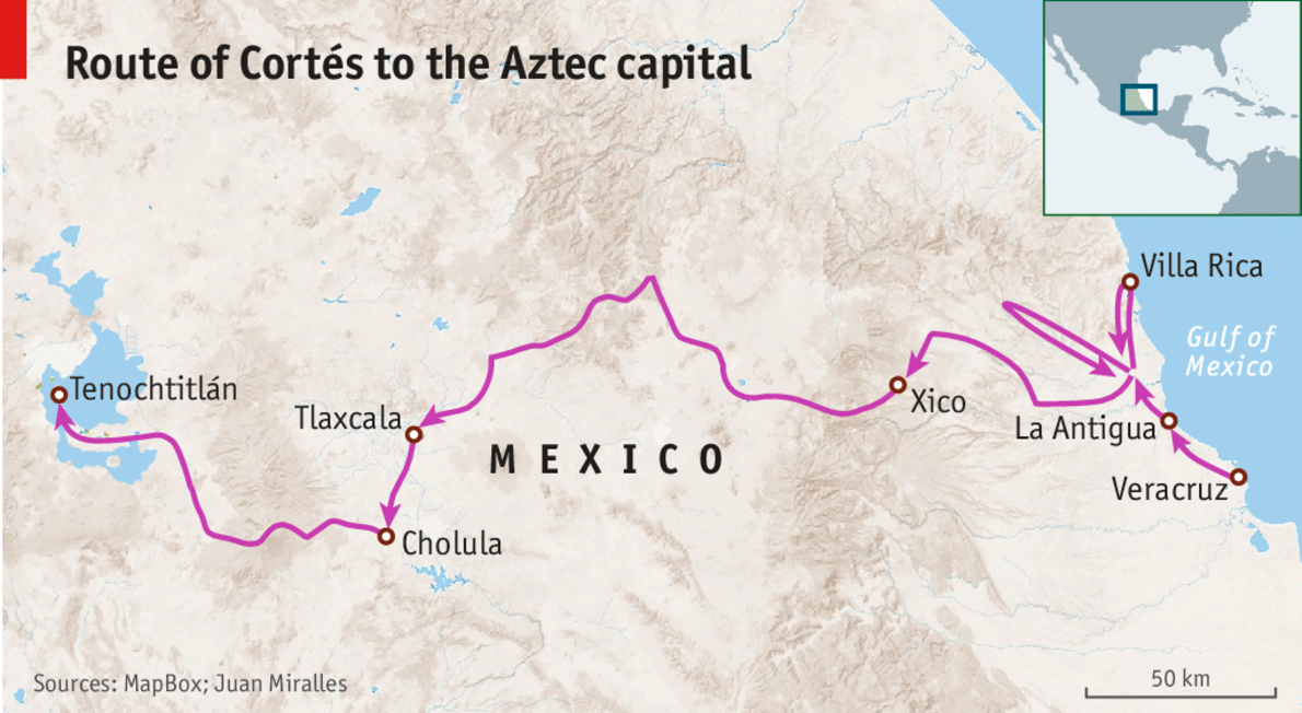 the story of hernan cortes and his conquest