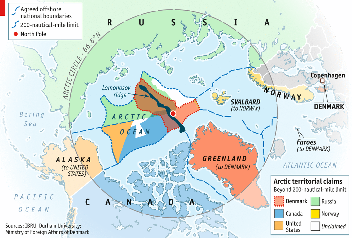 Frozen conflict  The Arctic