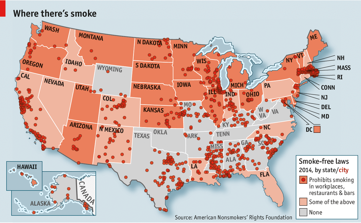 cigarettes should be banned in america I write this as a past-smoker i don't honestly think they should ban cigarette sales in the united states if people are dumb enough (as i was once one of them) to inhale carcinogens knowing the.