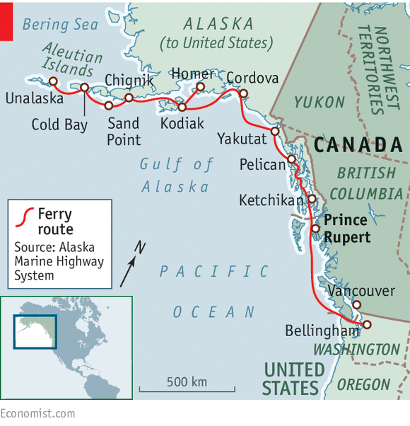Pelican Bay Alaska Map.My Way Or The Highway United States Canada Relations