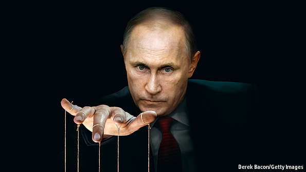 Image result for putin puppet master