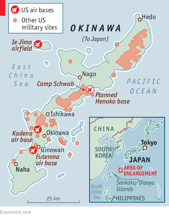 Base Issues Japan And The United States - Japan map us navy bases