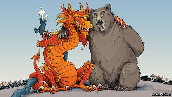 russia and china political relationship