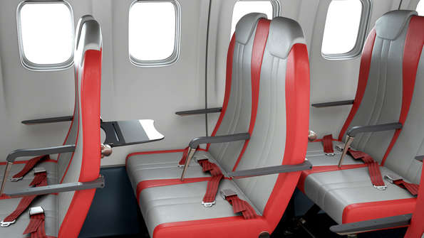 Expliseats Seat Frame Is Constructed Of Titanium And Carbon Fibre The As It Named Cost Air Mediterranee Nearly Three Times Much