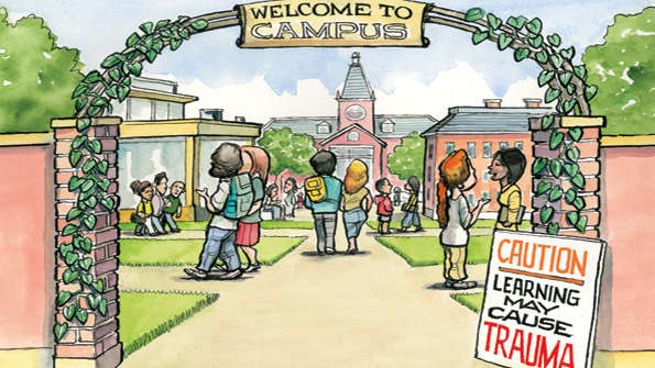 the importance of free speech on college campuses Free expression is not faring well on american college campuses  but it's  important not to go so far in protecting undergraduates that they lose.