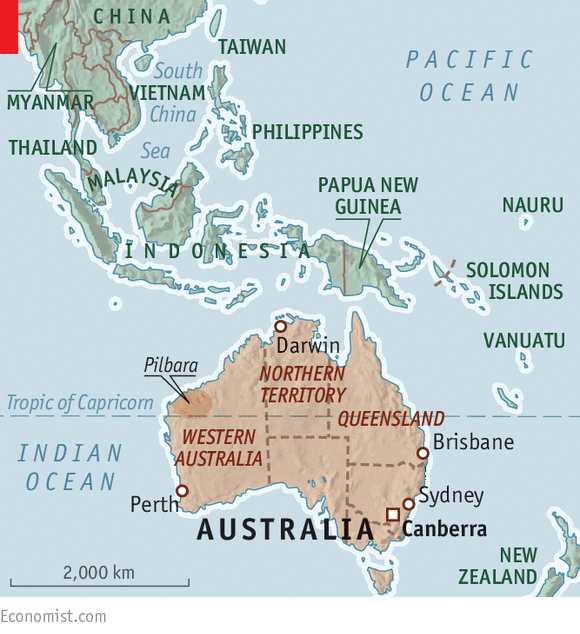 australians have long viewed the north of their country the way america once regarded its west as the last frontier the region of red deserts and steamy