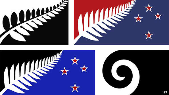 A New Flag For Zealandhang Up The Fern