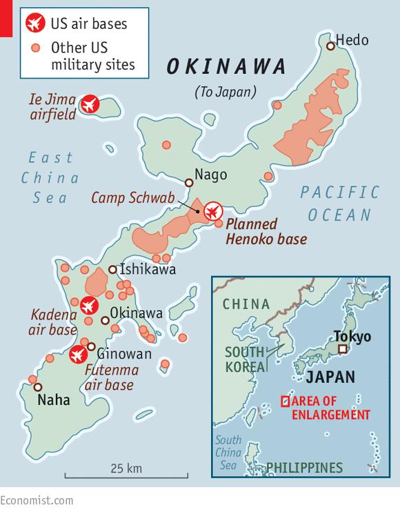 Bases In Okinawa Japan Map.Island Warrior Okinawa