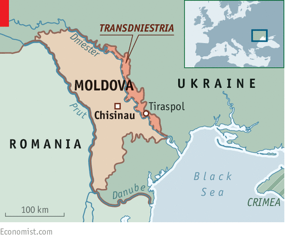 Small enough to fail Moldova on the edge