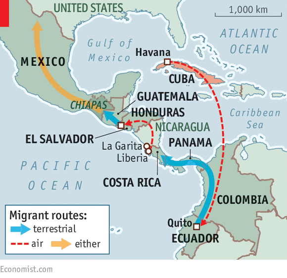 The Last Wave - Us map of costa rica