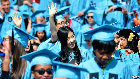 Where is easier to get a Bachelor Degree, China or America?
