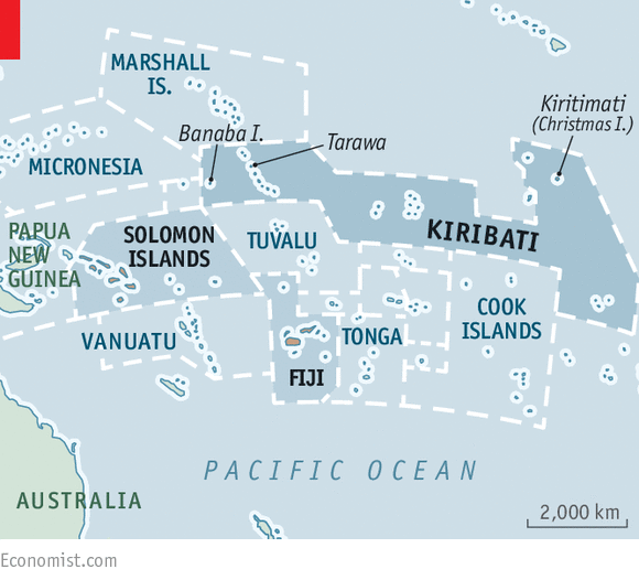 Making waves Politics in Kiribati