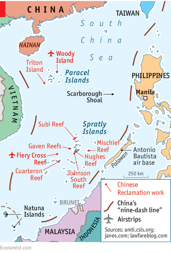 China v the rest The South China Sea