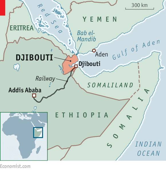 Djibouti On Africa Map.The Superpowers Playground Djibouti