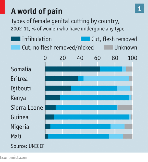 Groups as disparate as the Masai in Kenya, Jews in Ethiopia and Coptic  Christians in Egypt practise FGM in some form. Cutting is often done in the  name of ...