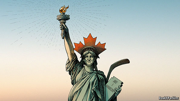 Liberty Moves North Canadas Example To The World