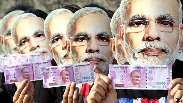 Modi's attempt to crush the black economy is hurting the poor