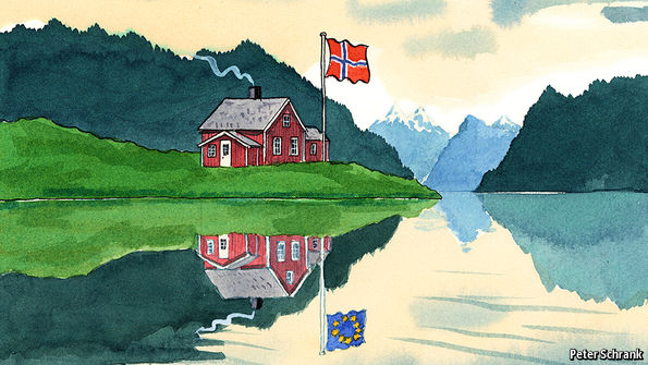 Norway's deal with the EU still holds lessons for Britain