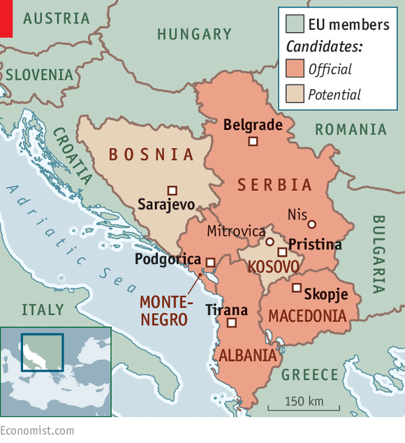 Moscow is regaining sway in the Balkans   Russian overtures