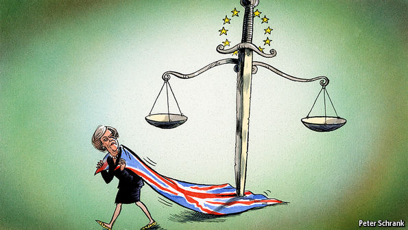 Britain may find it hard to escape the European Court of Justice