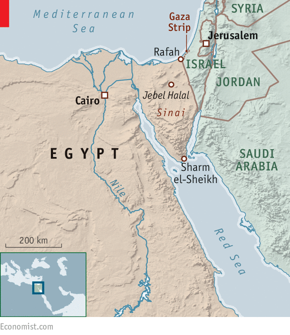 Middle East Map Sinai Peninsula.Egypt Is Failing To Stop The Insurgency In Sinai Still Burning