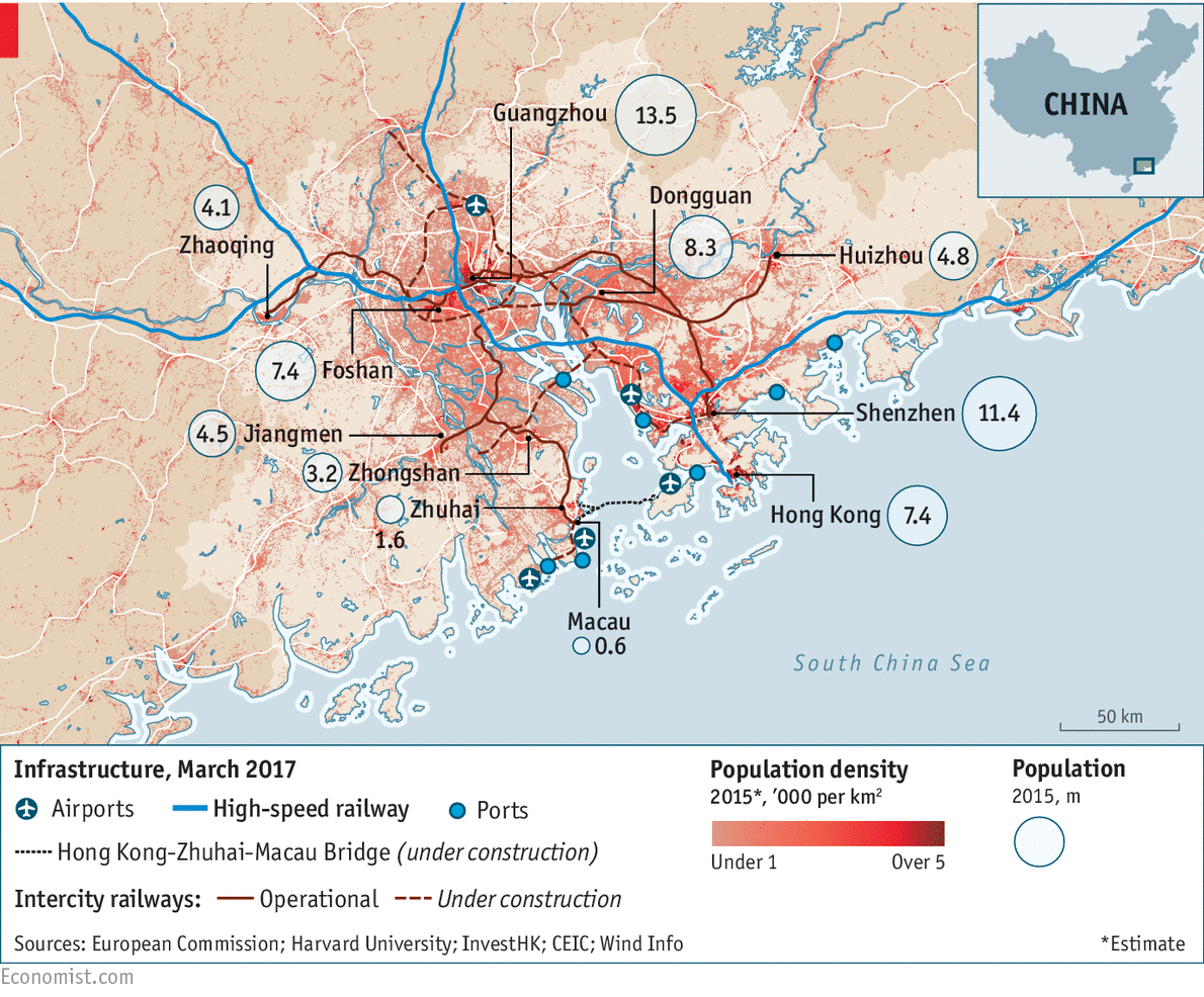 What china can learn from the pearl river delta jewel in the crown this modest sized triangle of land and water near chinas southern fringe has one of the worlds most successful economies its gdp at more than 12trn gumiabroncs Images