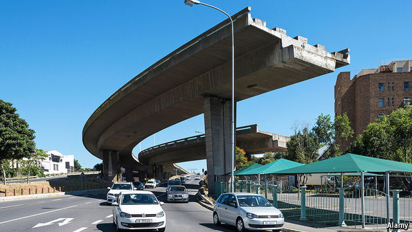 Plans For A Weirdly Unfinished Highway In Cape Town