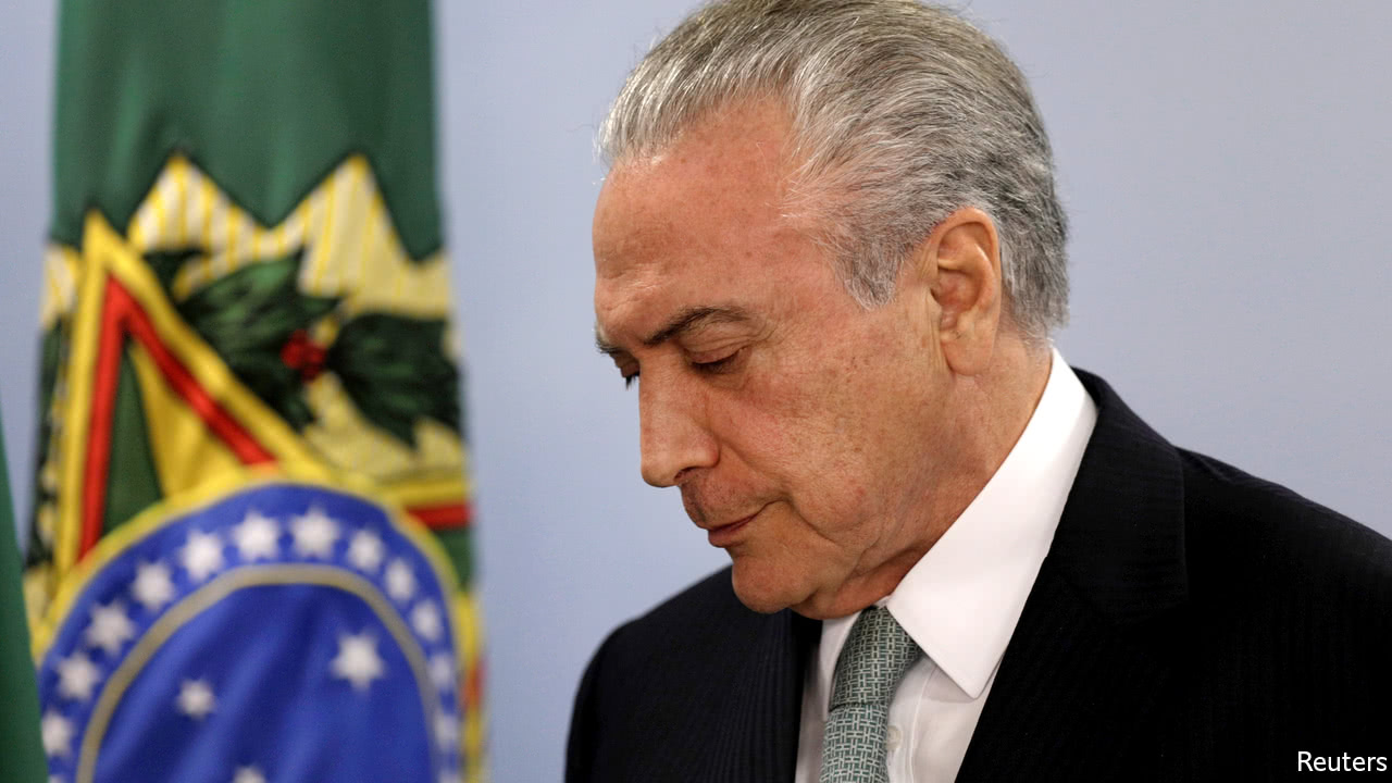 Brazil president withdraws troops after clashes