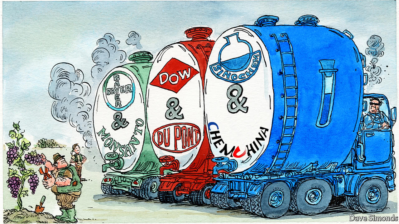 Why companies in the chemicals industry are mixing