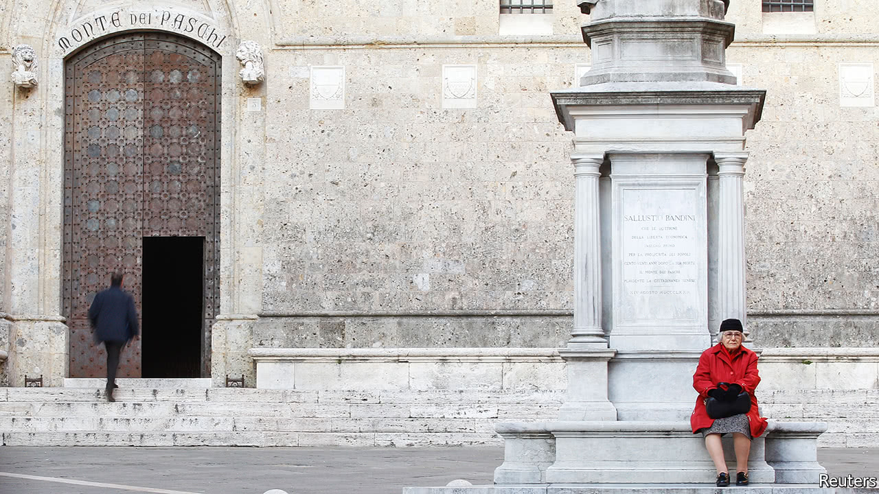 A state bail-out of Monte dei Paschi draws near