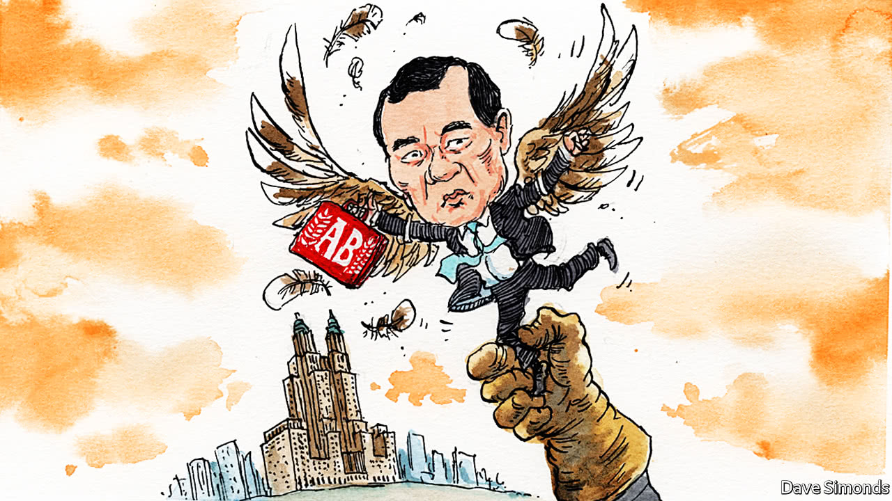 A high-flying Chinese dealmaker has his wings clipped