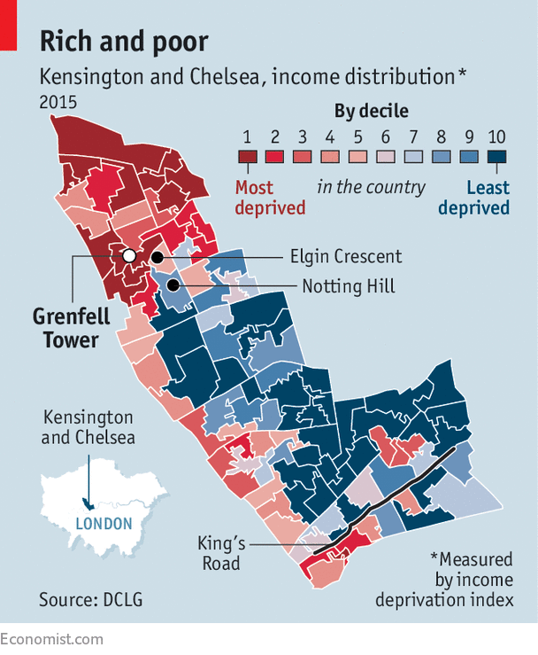 Kensington and Chelsea: a wealthy but deeply divided borough - Rich or rotten?