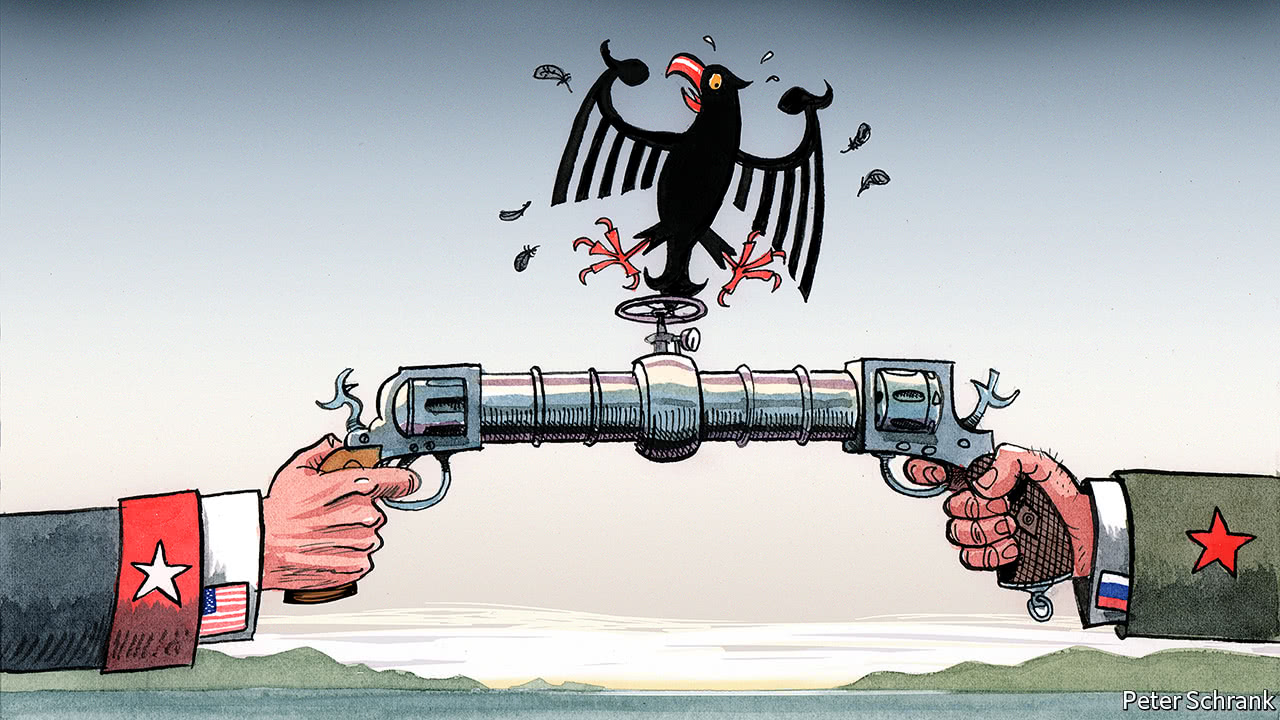 Germany S Russian Gas Pipeline Smells Funny To America