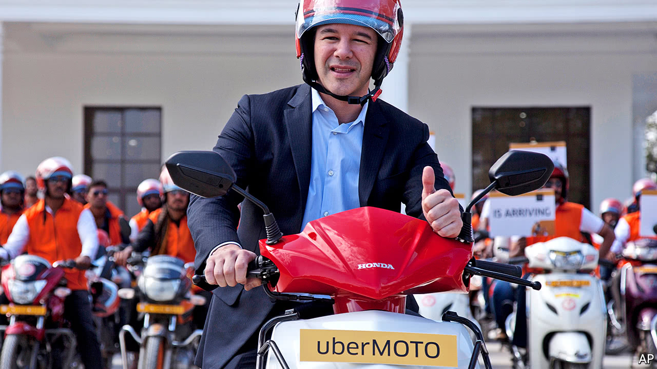 Travis Kalanick steps down as chief executive of Uber