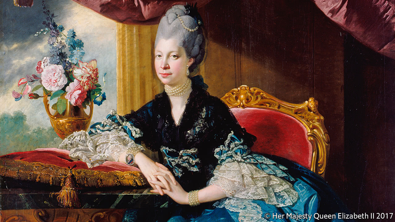 The busy lives of 18th-century royalty