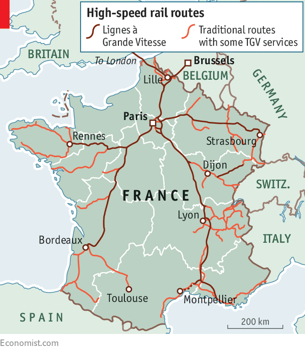 France Launches Its Last Highspeed Rail Lines Going So Fast: High Speed Train Route Map Europe At Infoasik.co